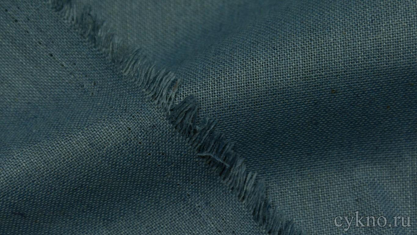 Ткань Лен аспидно-серый