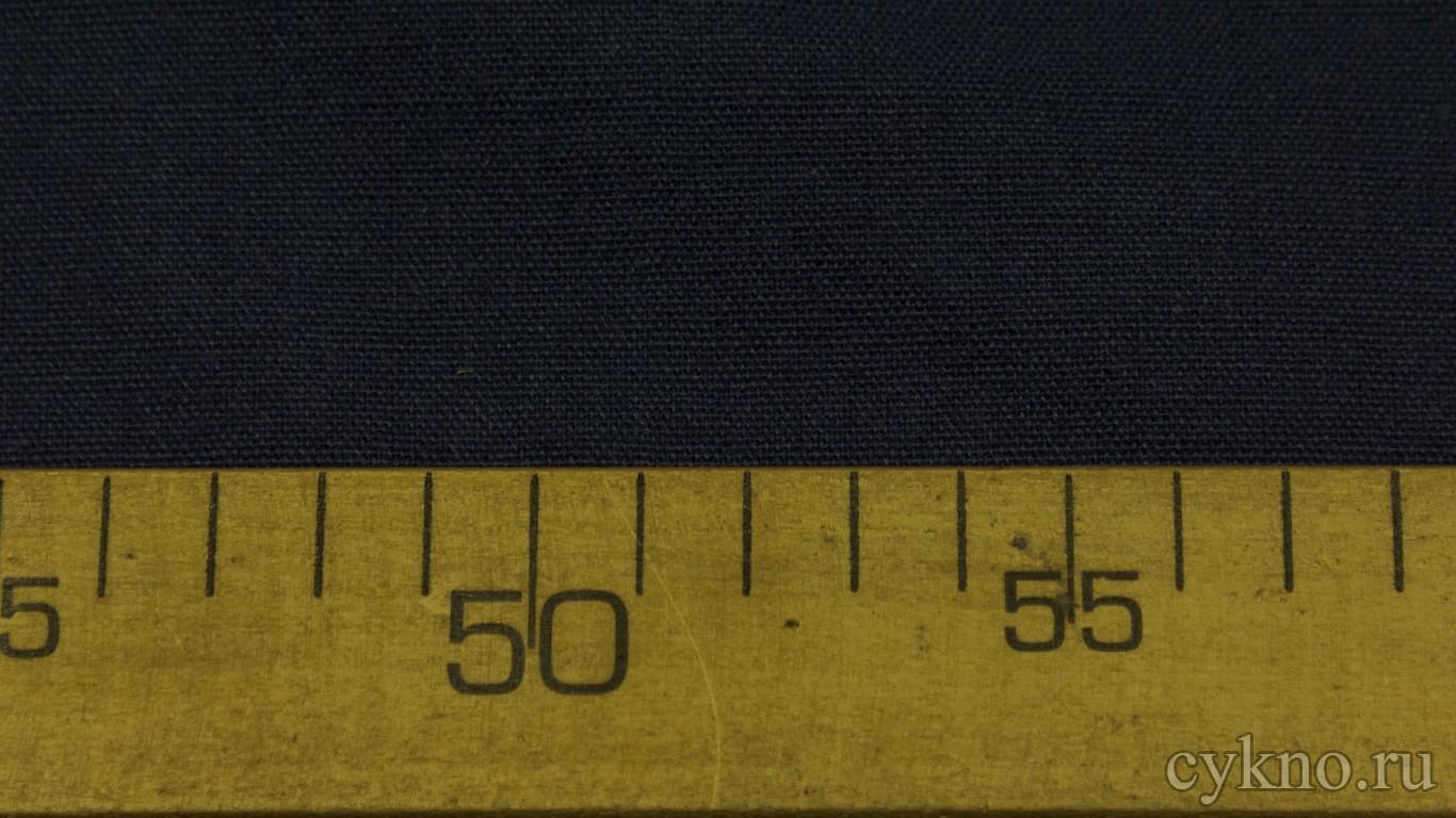 Ткань Лен кобальтово-синий