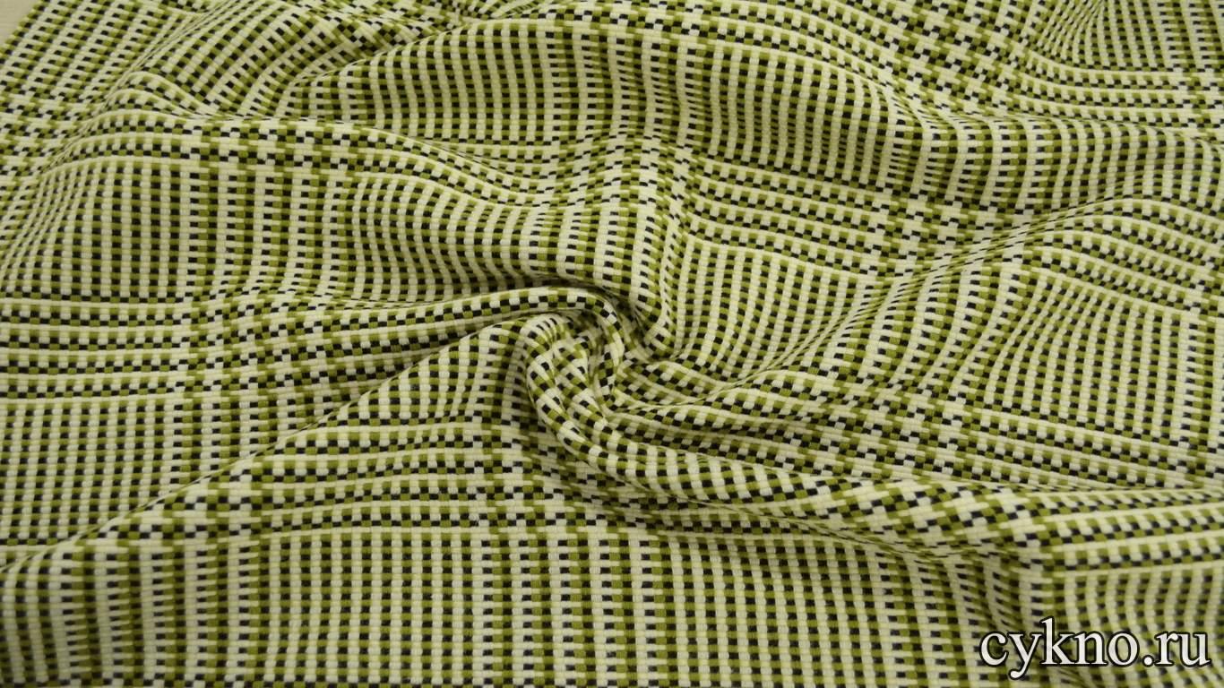 Пальтовая шерсть плетеная