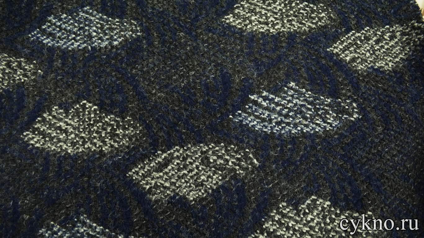 Пальтовая шерсть фиолетовая