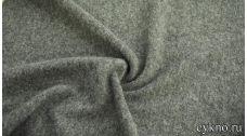Пальтовая шерсть благородная серая с ворсом