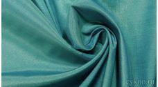 Ткань Плательная бирюзово-синяя