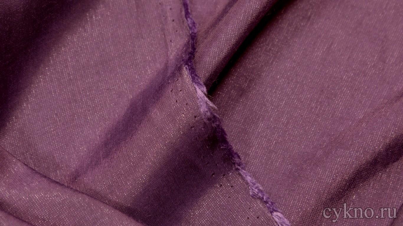 Ткань Плательная красно-сиреневая