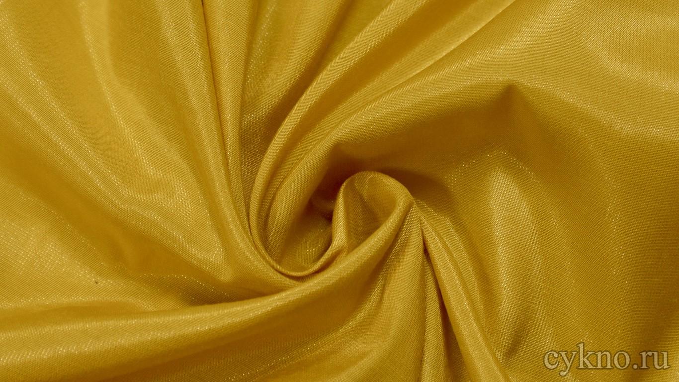 Ткань Плательная вискозная горчичного цвета