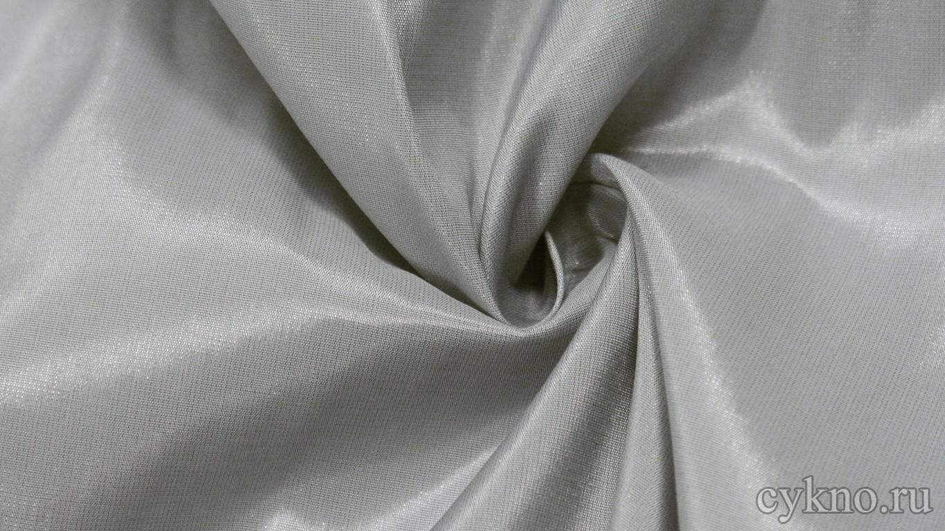 Ткань Плательная вискозная светло-серая