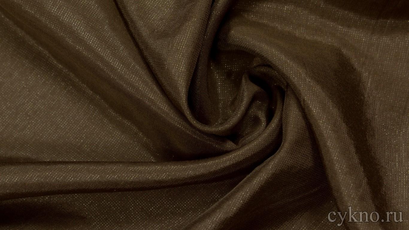 Ткань Плательная вискозная шоколадного цвета