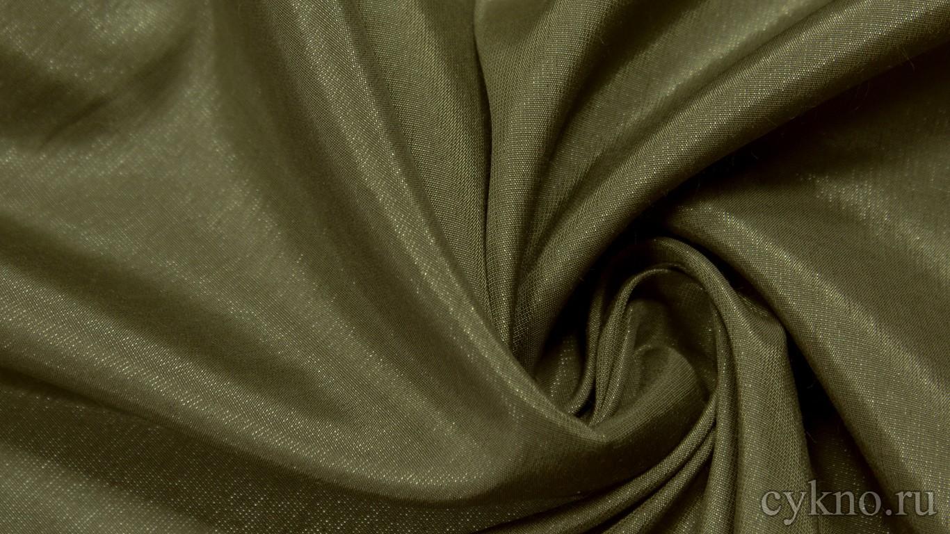 Ткань Плательная вискозная цвета хаки