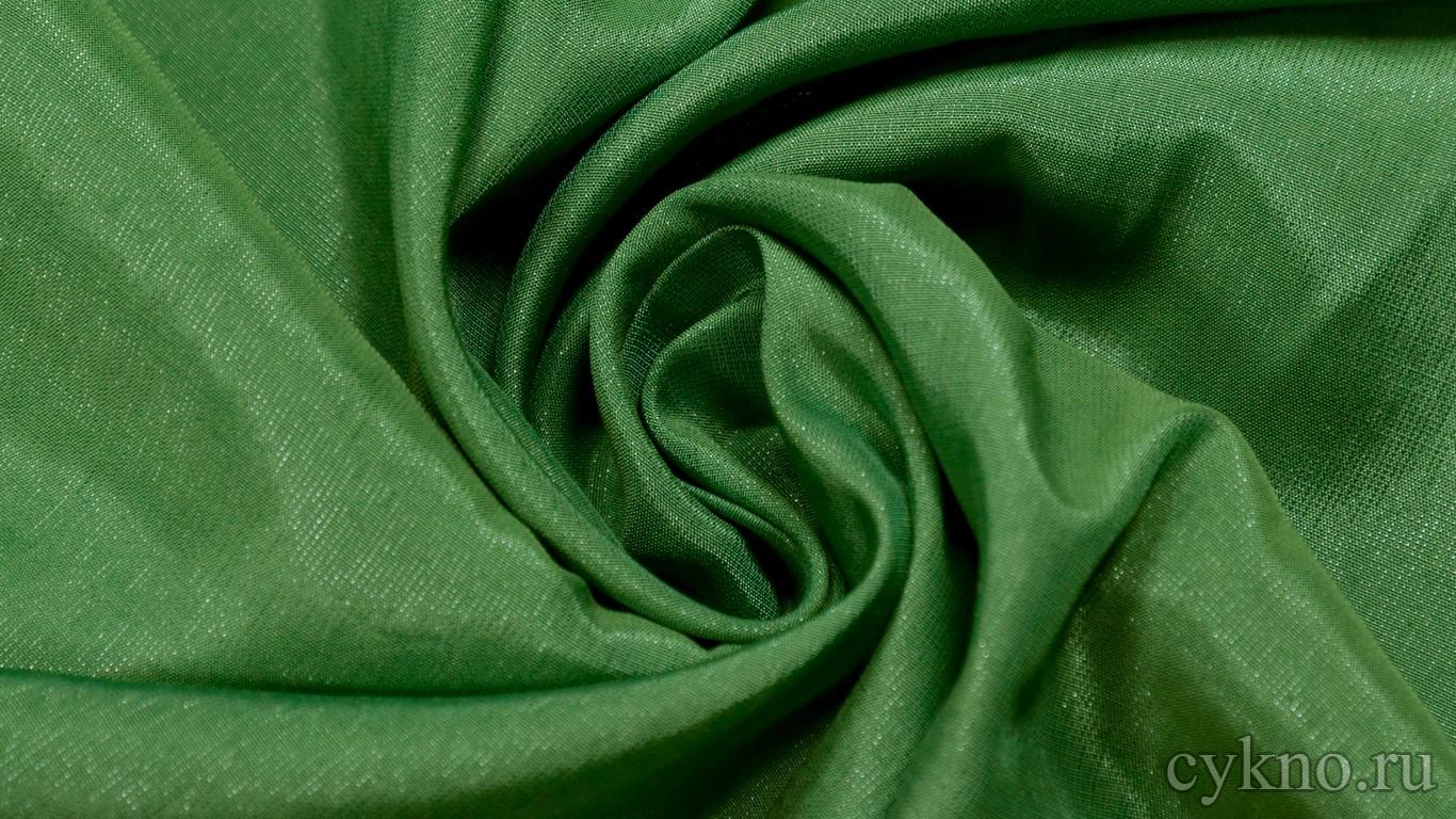 Ткань Плательная травяная зеленая