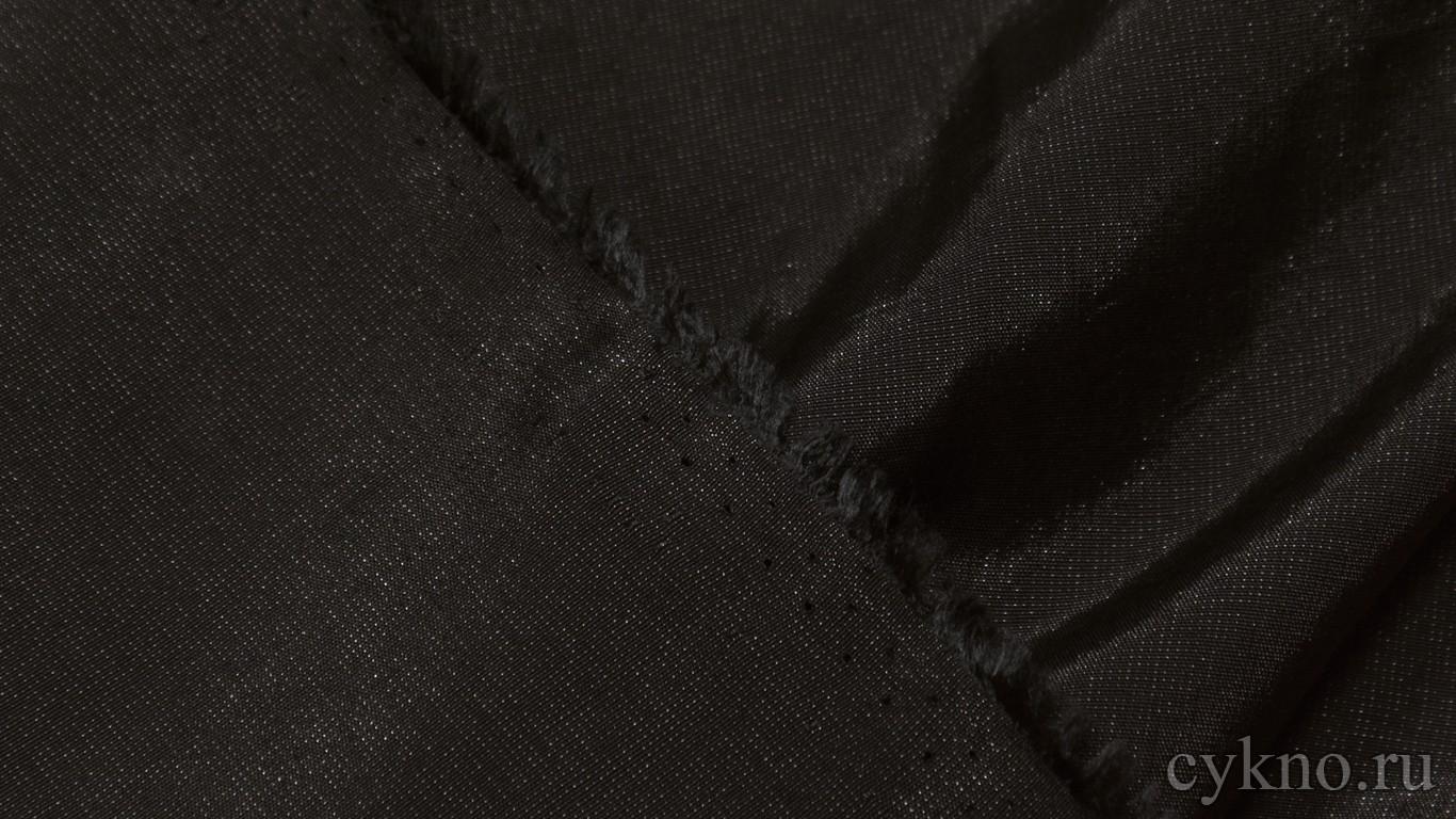 Ткань Плательная черно-коричневая