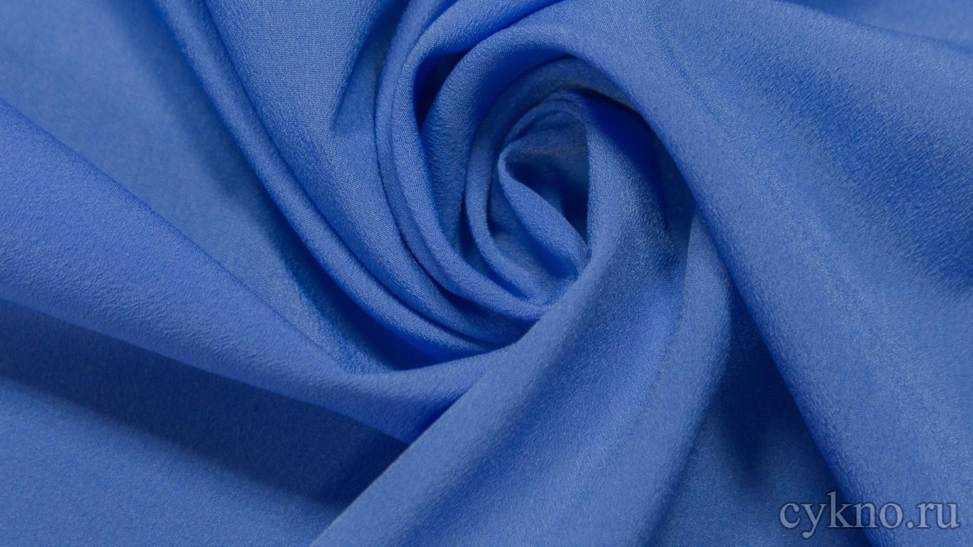 Ткань Плательная индиго крайола