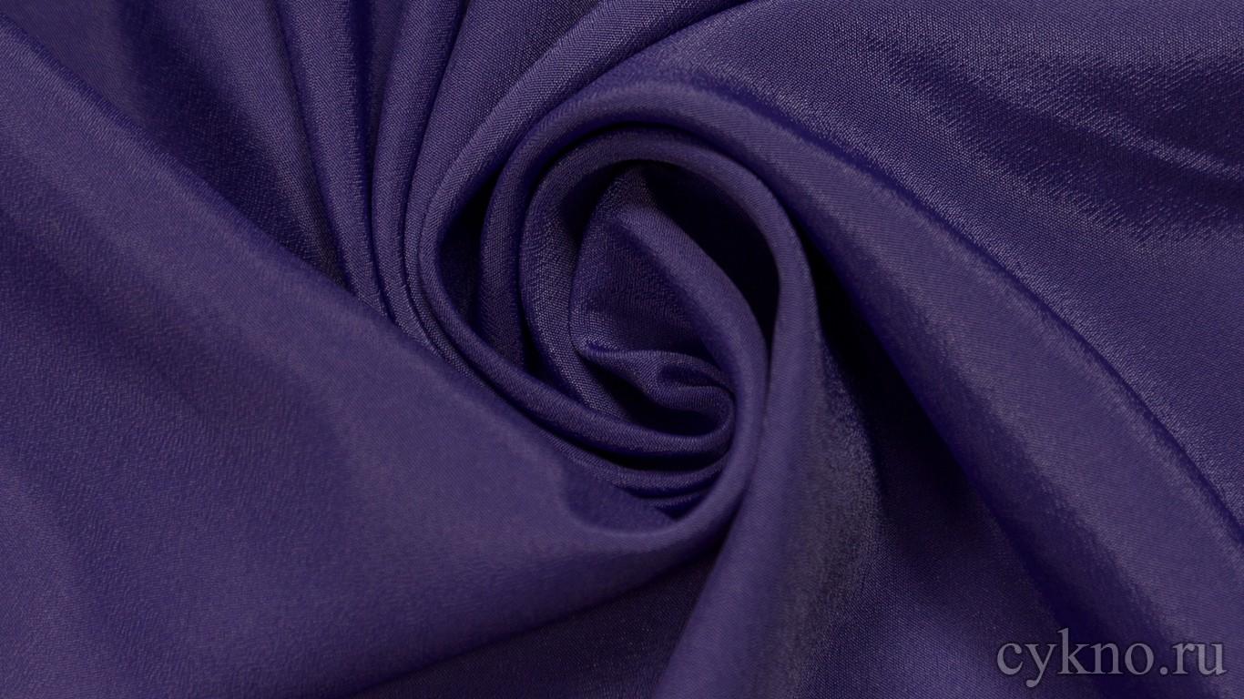 Ткань Плательная насыщенно-фиолетовая