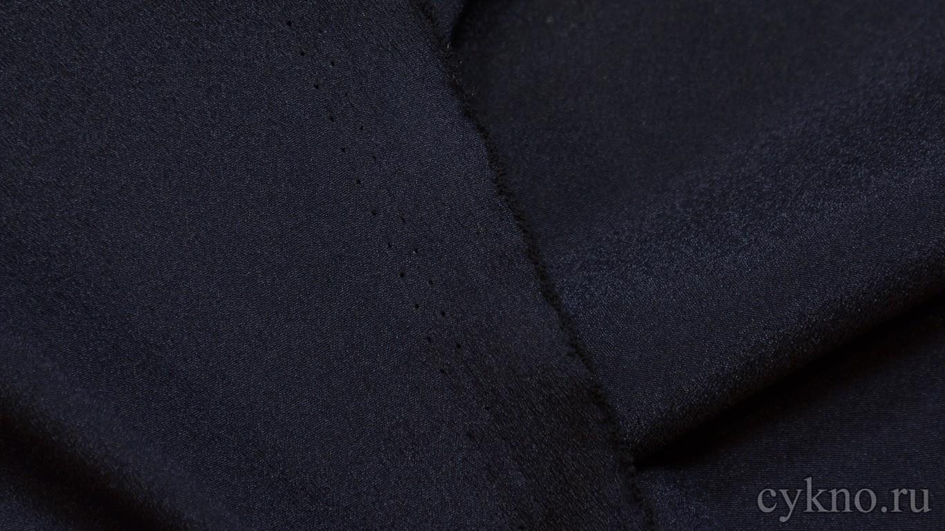 Ткань Плательная темная пурпурно-синяя