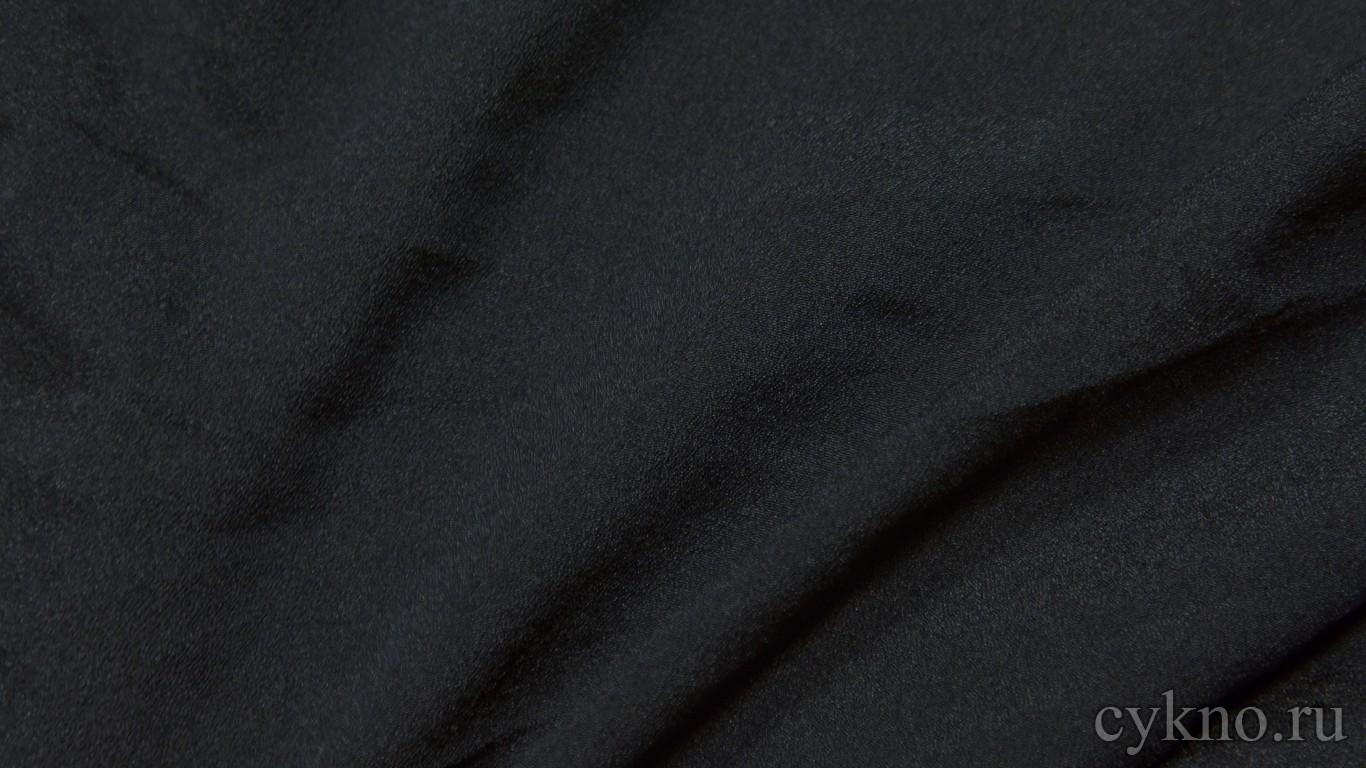 Ткань Плательная графитно-чёрная