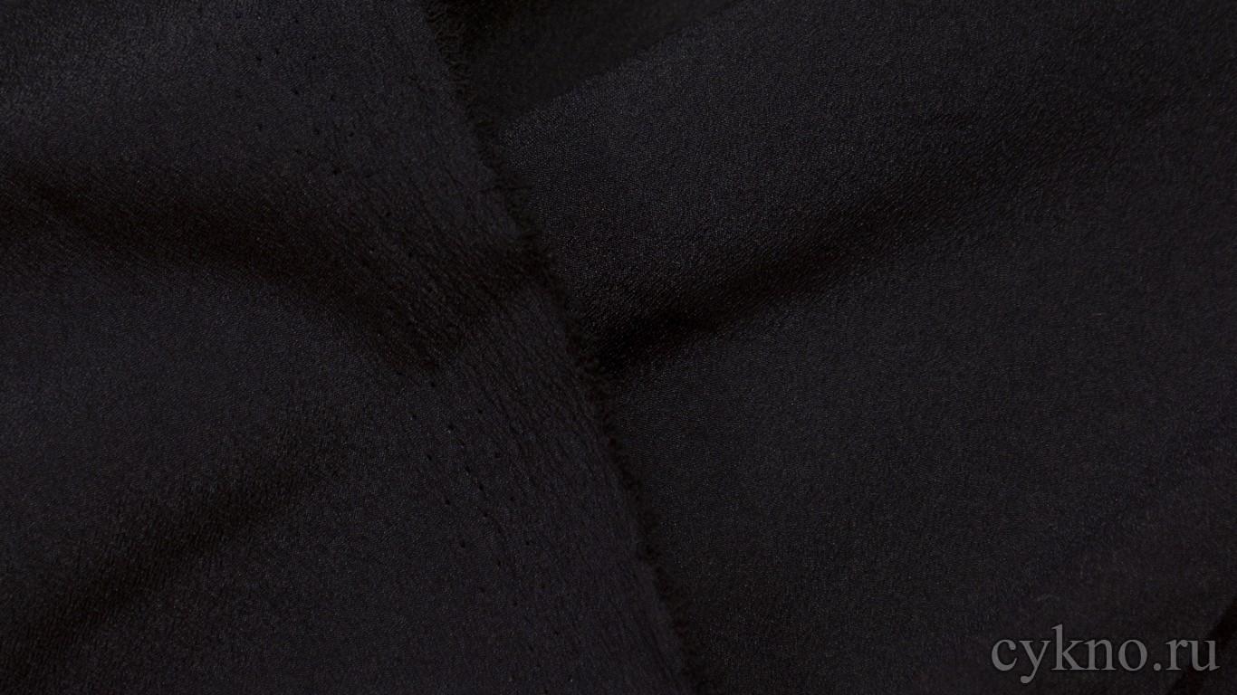 Ткань Плательная черная