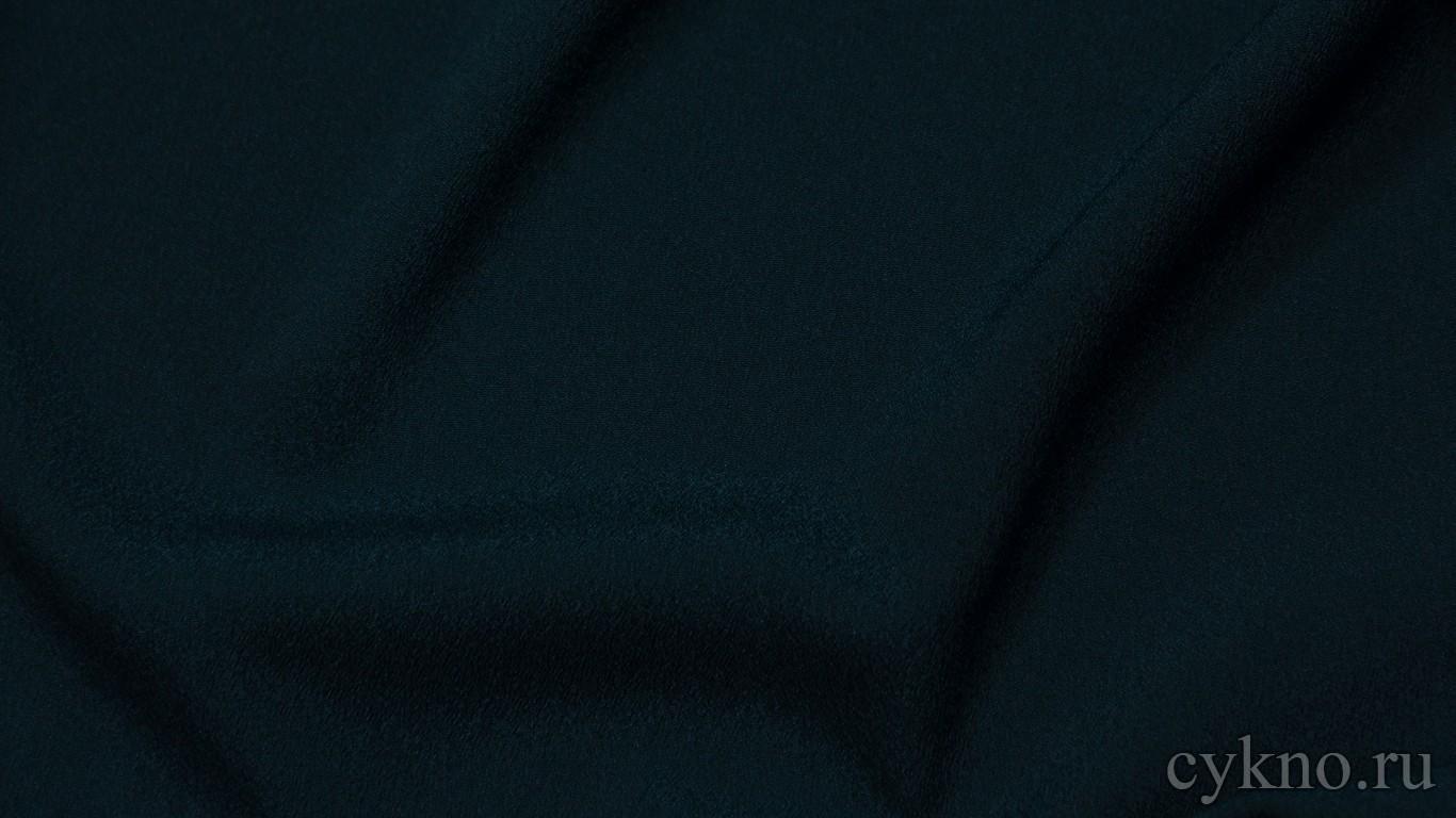 Ткань Плательная темная сине-зеленая