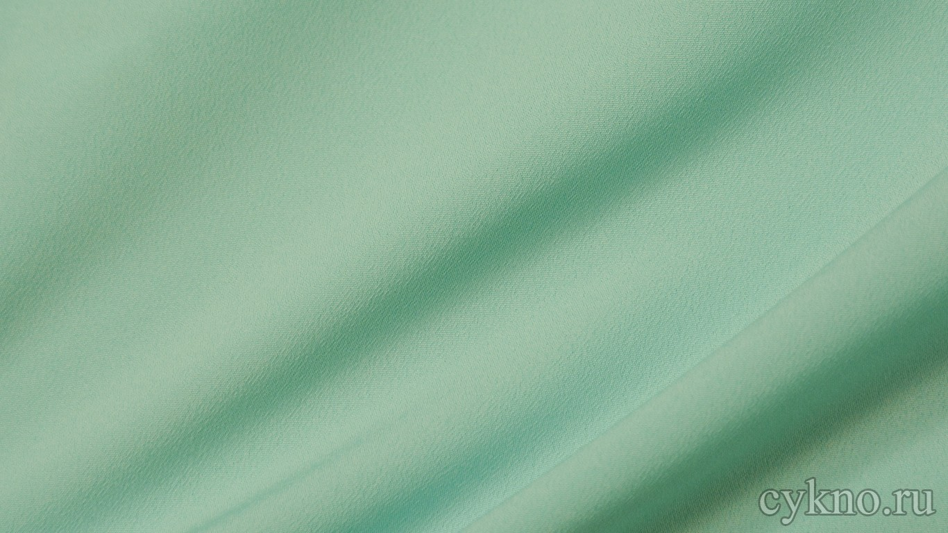 Ткань Плательная умеренная аквамариновая