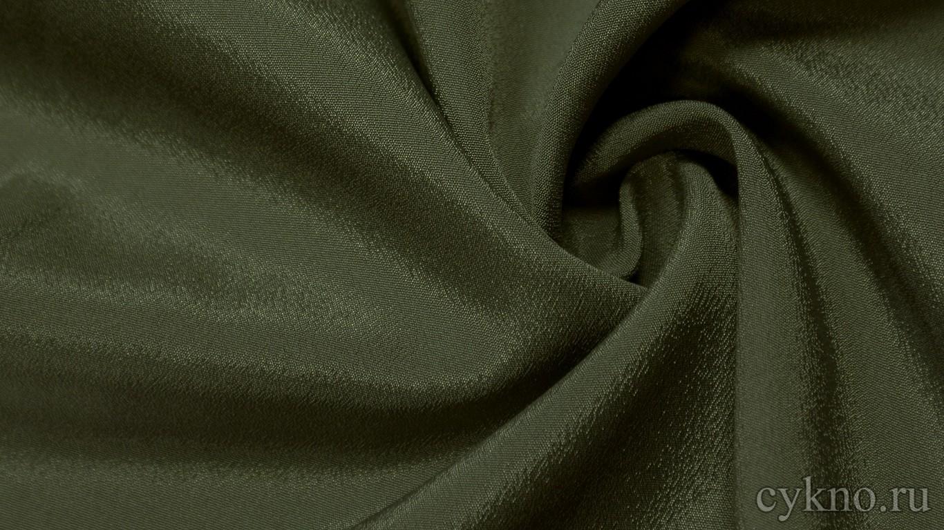Ткань Плательная бутылочно-зеленая