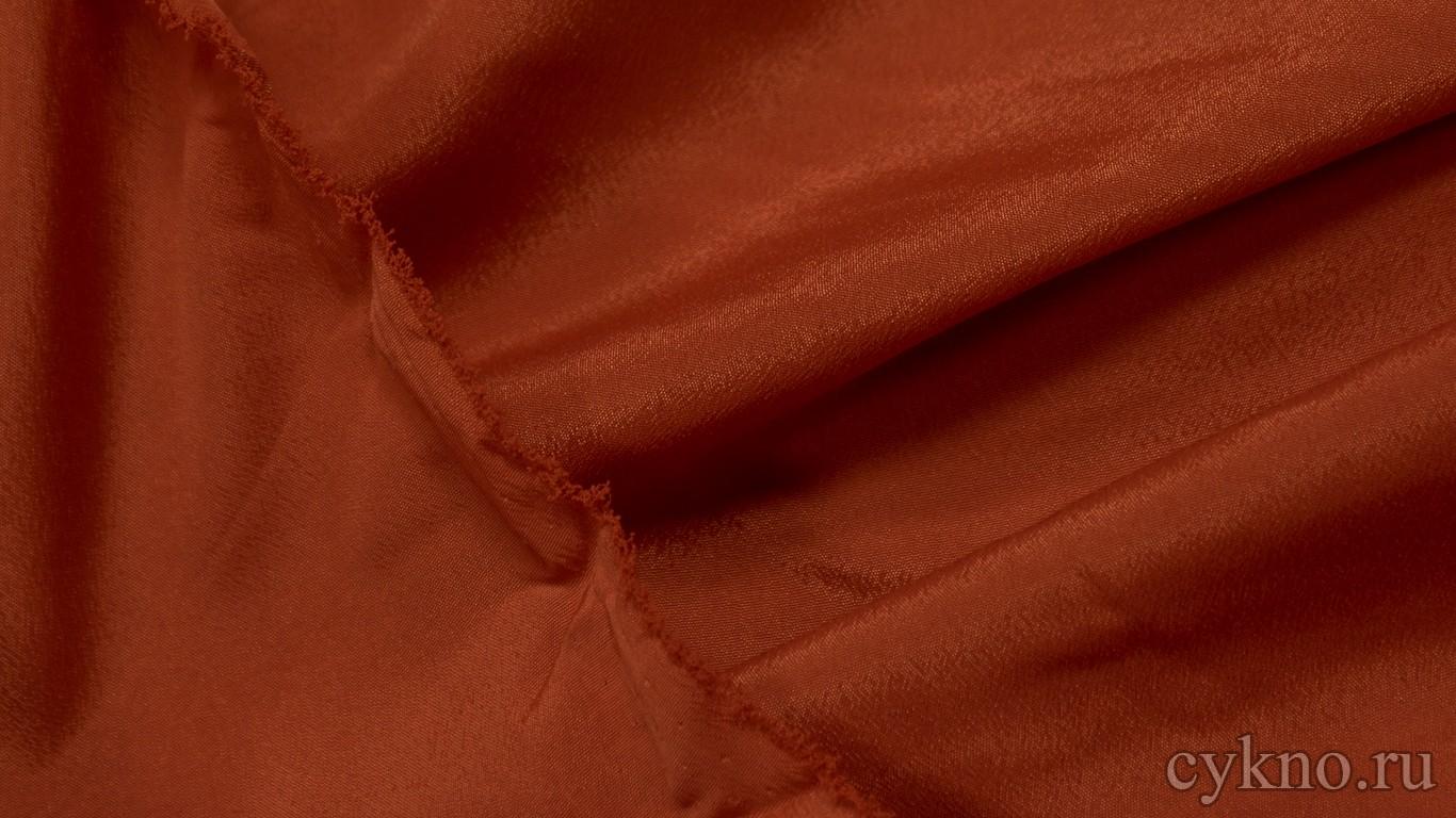 Ткань Плательная медно-коричневая