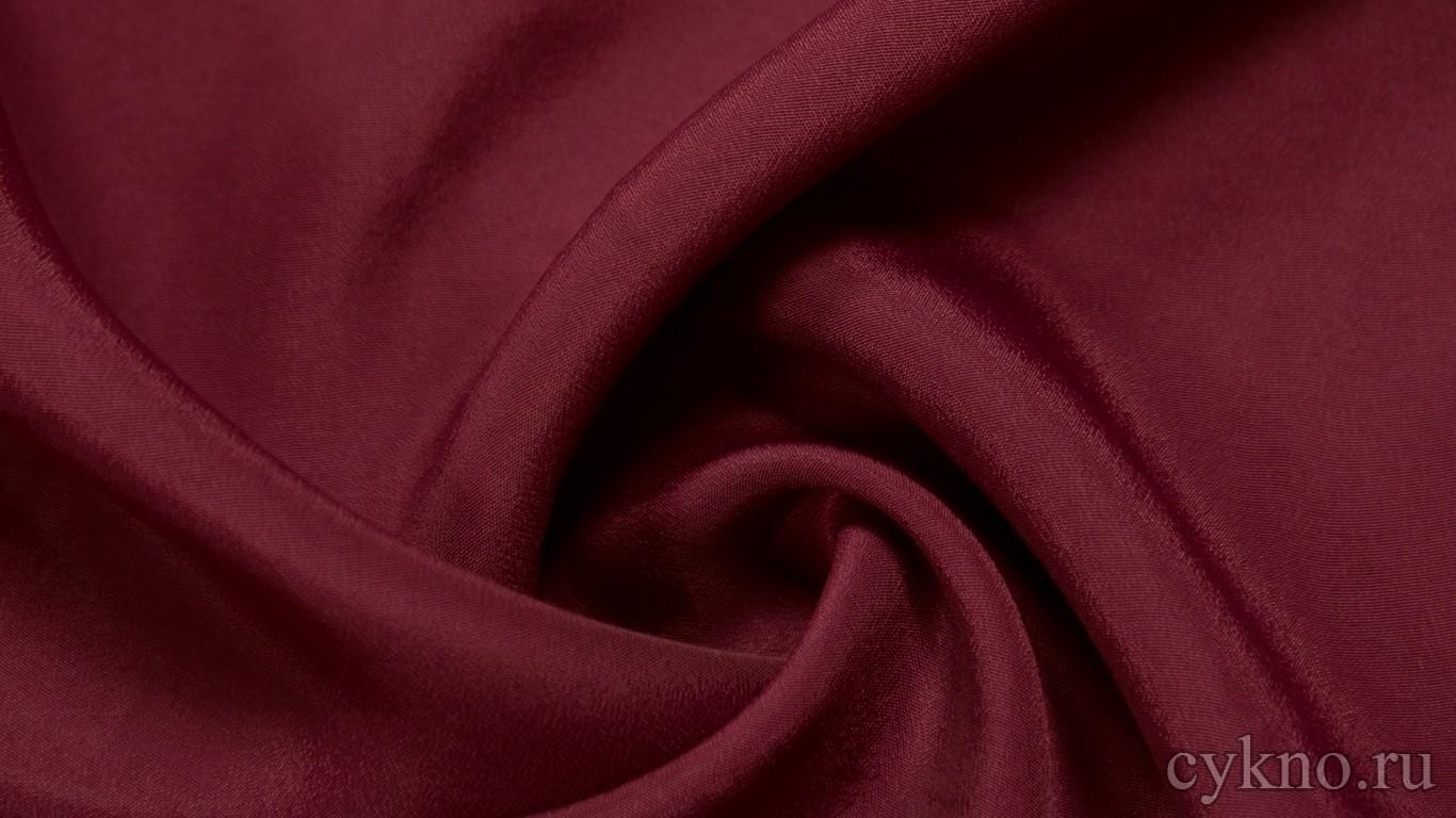 Ткань Плательная бордово-фиолетовая