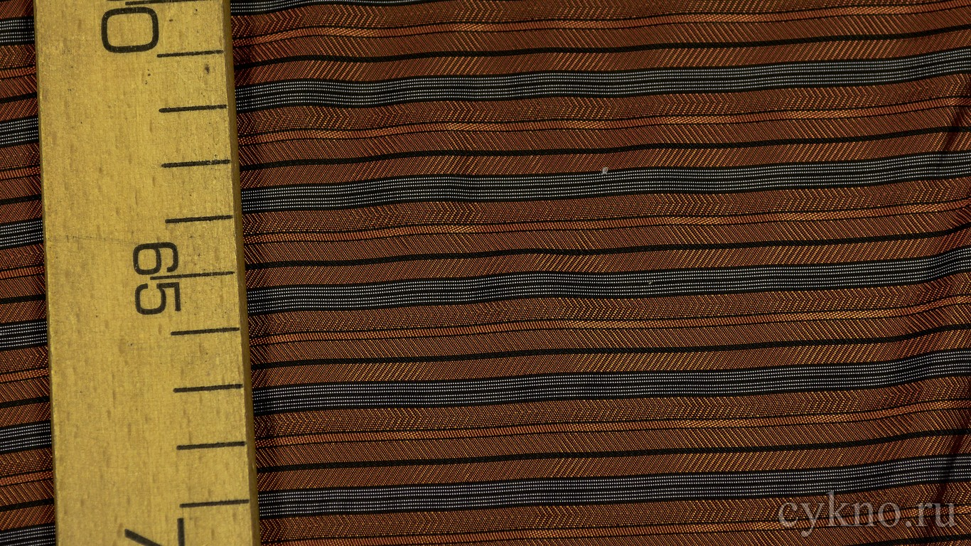 Ткань Подкладочная Бордовая в полоску
