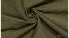 Вискоза Рубашечная болотного цвета