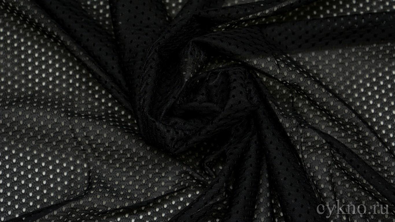 купить ткань черную стрейч