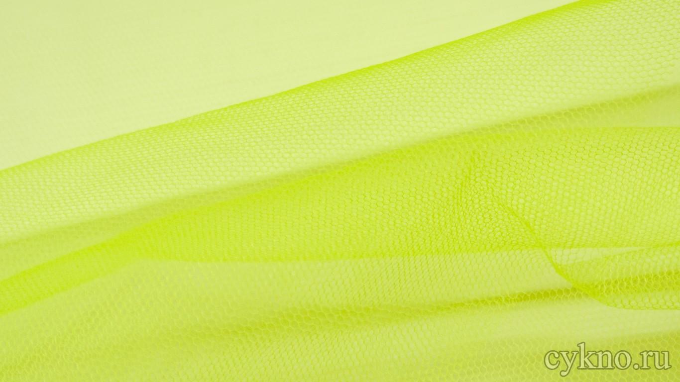 Ткань Фатин Жесткий цвета шартрез