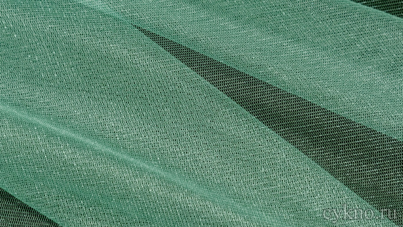 Ткань Фатин Средней Жесткости сине-зеленый