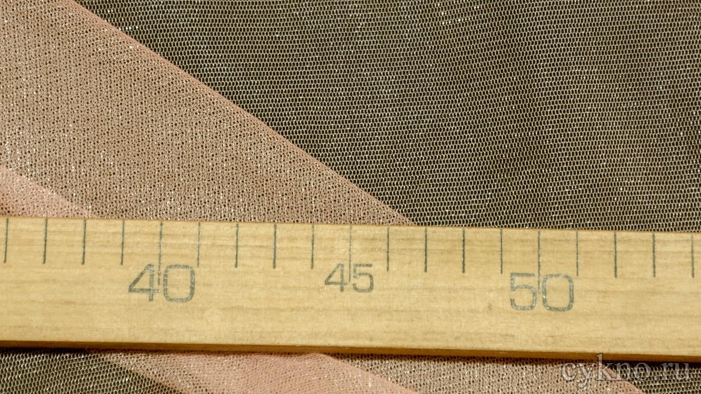 Ткань Фатин Средней Жесткости нежный лососевый цвет
