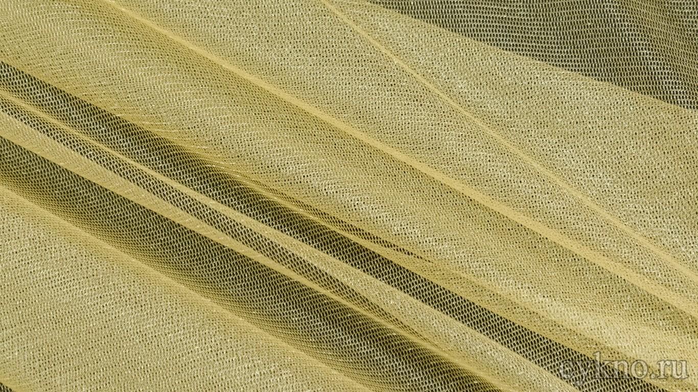 Ткань Фатин Средней Жесткости грязный желтый