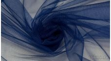 Ткань Фатин Средней Жесткости кобальтового цвета