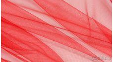 Ткань Фатин Средней Жесткости красный