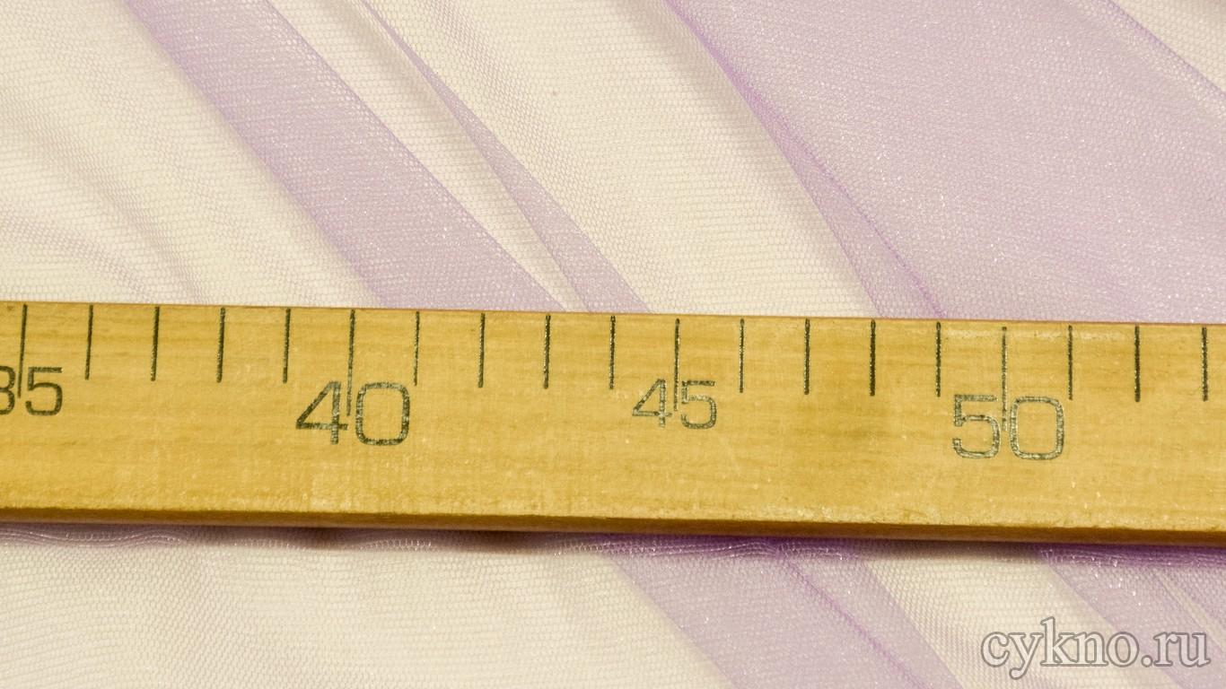 Ткань Фатин Средней Жесткости нежный сиреневый
