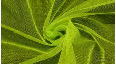 Ткань Фатин Средней Жесткости цвета лайм