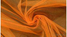 Ткань Фатин Средней Жесткости оранжевый