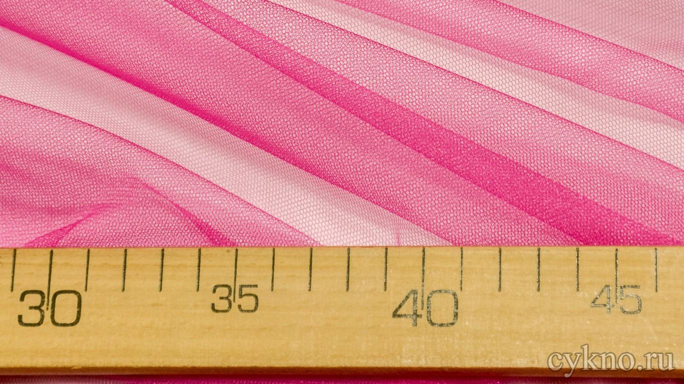 Ткань Фатин Жесткий цвета фуксия