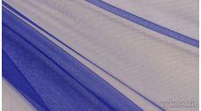 Ткань Фатин Средней Жесткости синего цвета