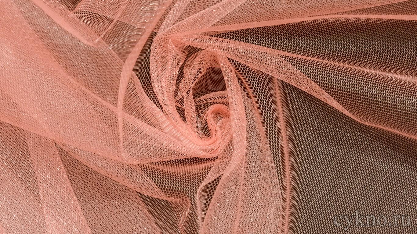 Ткань Фатин Средней Жесткости пюсовый