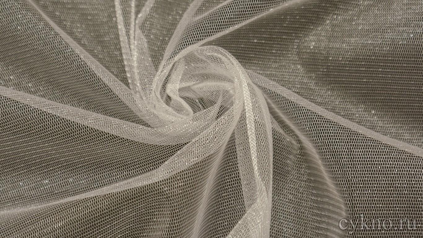 Ткань Фатин Средней Жесткости светло-серый