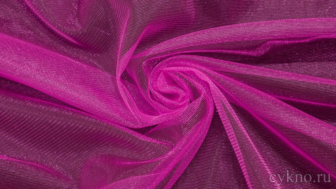 Ткань Фатин Средней Жесткости цвета фуксия