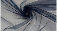 Ткань Фатин Средней Жесткости темно-синий