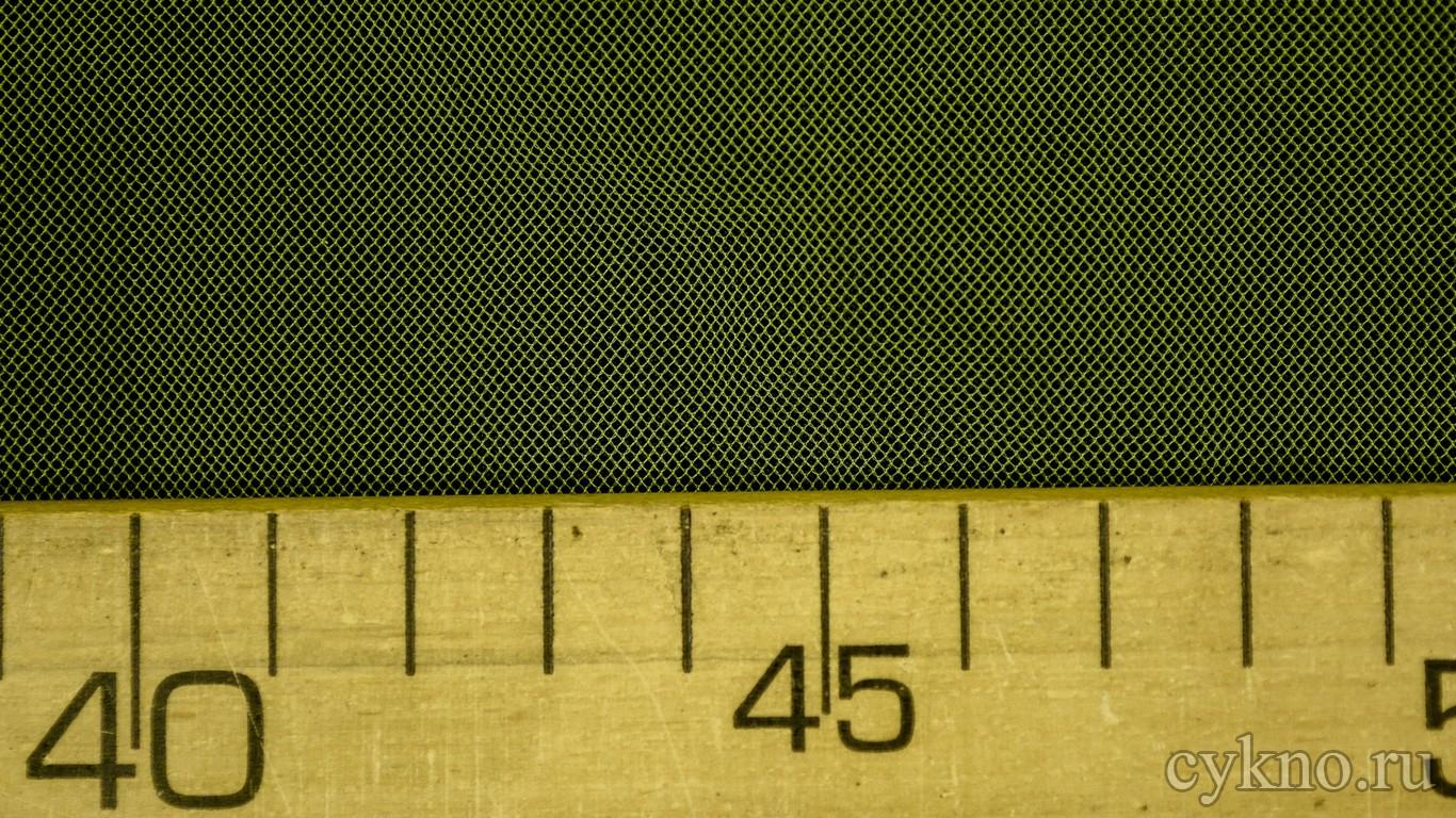 Ткань Сетка Мягкая Желто-зеленая
