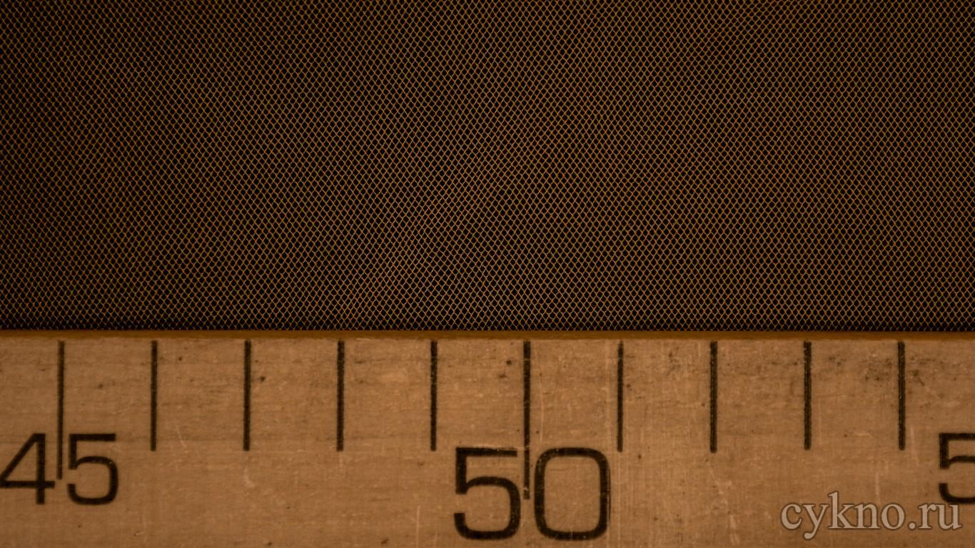 Ткань Сетка Мягкая Оранжевая