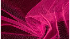 Ткань Сетка Мягкая Ярко-розовая