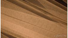 Ткань Сетка Мягкая Бежевая песочная