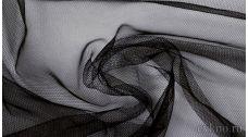 Ткань Сетка Мягкая Черная