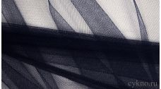 Ткань Сетка Мягкая Темно-синяя
