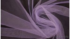 Ткань Сетка Мягкая Сиреневая