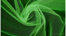 Ткань Сетка Мягкая Зеленая Яркая