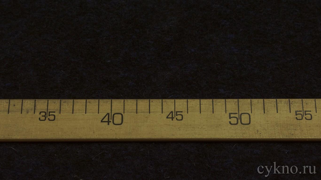 Ткань Трикотаж Шерстяной иссине-черный с ворсом